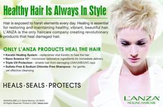 Lanza Healing Haircare. L'ANZA products do not contain any known carcinogens and are never tested on animals. To promote a healthy and sustainable earth, our packaging is made from recycled materials and is recyclable. Cruelty Free. No animal testing.  #CrueltyFree #Noanimaltesting #Beauty