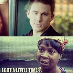 Just maybeeee.... #SweetBrown #ChanningTatum