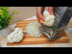 Τριμμένο κουνουπίδι‼ ️ Δοκιμάστε τη συνταγή, σίγουρα θα σας αρέσει 👌🔝😋😋😋 - YouTube Egg Recipes, Diet Recipes, Vegetarian Recipes, Chicken Recipes, Veggie Side Dishes, Vegetable Dishes, Vegetable Recipes, Crossfit Diet, Banana And Egg