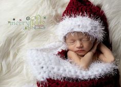 Crochet Pattern PDF Baby Santa Photography Set. von FunyCreation, $6.00