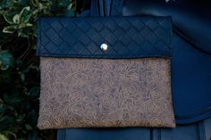 Designer Handcrafted Brown & Black Western Faux Leather Saddle Bag  #UniquelyHandCrafted