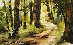 Kathy Los-Rathburn, Watercolors: May 2010