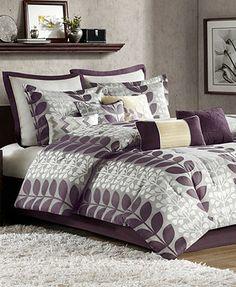 CLOSEOUT! Zoe 12 Piece Queen Comforter Set