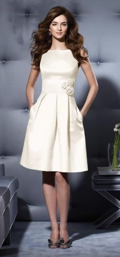 love the look of a structure dress with pockets
