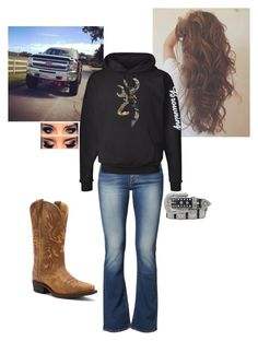 Untitled #70 by taylor-125 on Polyvore featuring polyvore, fashion, style, Wrangler, Dingo and Nocona