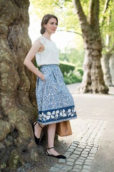 Outfit: 'Weekend Max Mara Floral Skirt' | Mood For Style - Fashion, Food, Beauty & Lifestyleblog