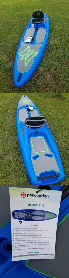 Stand Up Paddleboards 177504: Perception Hi Life 11.0 Sup Kayak - New -> BUY IT NOW ONLY: $799 on eBay!