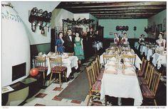 Interior- Hungarian Village Dining Room, Toronto, Ontario, Canada, 1940-1960s