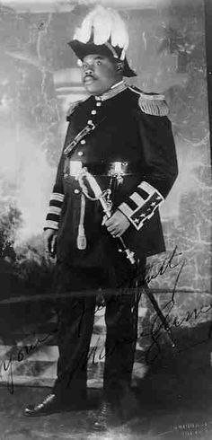 marcus garvey | Marcus Garvey as commander in chief of the Universal African Legion,suit looks familiar. my K.T brothers