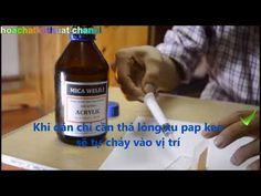 hoachatkythuat: ( Keo dán mica ) Hướng dẫn dùng xilanh dán keo Acrylic Glue, Acrylics, Acrylic Nails