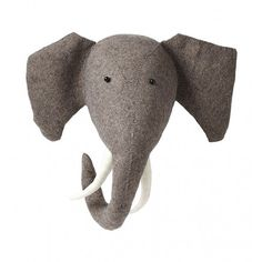 Existing: Fiona Walker Scandi Chic Felt Animal Head Elephant