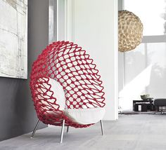 DRAGNET LOUNGE CHAIR #seating #chair