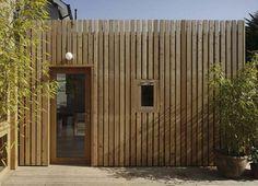 cedar cladding - remodelling house - Dublin - CAST - on Behance Cedar Cladding House, Wooden Cladding Exterior, Western Red Cedar Cladding, Rainscreen Cladding, Larch Cladding, Cladding Design, Timber House, Cladding Ideas, External Cladding