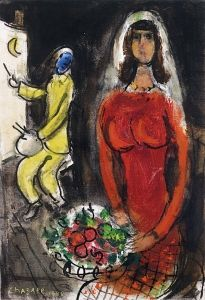 The Bride and the Artist - Marc Chagall - The Athenaeum