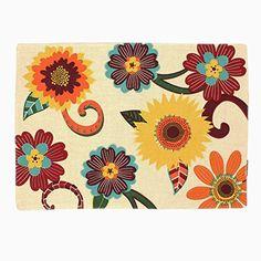 Harvest Season Beige Linen Floral Placemats - Set of 4 Croft & Barrow http://www.amazon.com/dp/B015ERZIHI/ref=cm_sw_r_pi_dp_bxQcwb1V5D12F