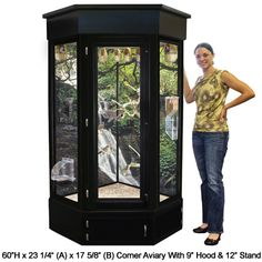 Majestic Corner Bird Cage : 60  This is way too fancy and expensive, but this is my dream bird cage for the little ones.