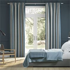 Blue Curtains 2go™ | Duck Egg, Navy Blue, Teal & More Blue Tones, Neutral Tones, Teal Curtains, Curtain Patterns, Navy Blue, Mid Century, Green, Egg, Color