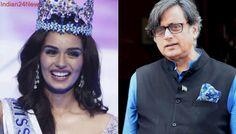 Shashi Tharoor Draws Flak For Calling Miss World 'Chillar'