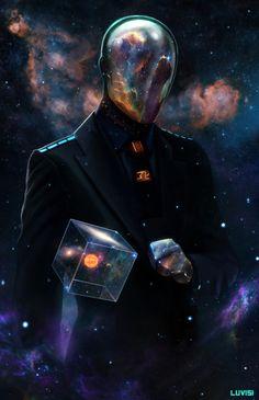 Sci Fi Art by Dan LuVisi  http://www.danluvisiart.com/