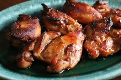 Honey Baked Soy Chicken Thighs