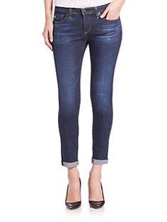 AG - Stilt Cigarette Roll-Up Jeans
