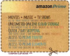 If you've been thinking of joining Amazon Prime for the movies and free shipping... you can get 1 month FREE of this popular Amazon upgrade! This promotion has no end date as of June 2015.