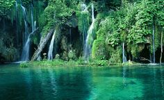 Image detail for -Description About Beautiful Croatia Waterfall In The Forest Wallpaper