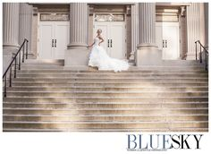 Charlotte Bridal Portrait by Charlotte wedding Photographer BlueSky Studios