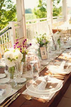 Karen Lenahan Designs - Hamptons Flower Arrangements - wonderful tabletop