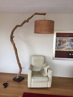 Einzigartige Stehlampe oder Bogenlampe von von GBHNatureArt auf Etsy