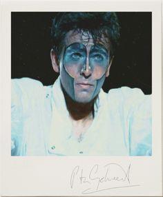 Peter Gabriel polaroid – 1983