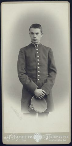 Prince Nicholas Felixovich Youssoupoff (Nikolai Yussupov), elder brother of Felix Yussupov. Killed in a duel in 1908. Morto num duelo em 1908.