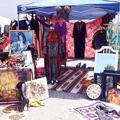 """VENICE HIGH FLEA MARKET / this small and manageable Westside market hosts 40 to 50 vendors offering antiques, collectibles, vintage clothing, jewelry, furniture, household items and """"just about anything else you would expect."""" / Second Saturday of the month from 8am to 4pm. Admission: Free."""