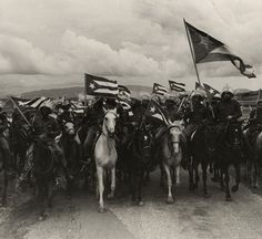Cuba in Revolution, Raúl Corrales, La Caballeria (Cavalry), 1960