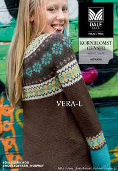 DG_326-05_Genser_Forside_Web-600x849 (486x700, 300Kb) Knitting, Children, Sweaters, Pattern, Fashion, Tejidos, Threading, Young Children, Moda