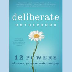 "More than 60 phenomenal Power of Moms authors collaborated to ""write the book"" on deliberate motherhood.  We're confident you'll love it."