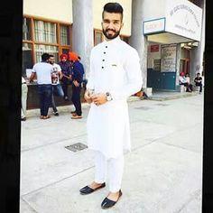 Kurta pajama punjabi dres s Punjabi Kurta Pajama Men, Punjabi Men, Kurta Men, Punjabi Dress, Indian Men Fashion, Mens Fashion Suits, Boys Kurta Design, Gents Kurta, Designer Suits For Men