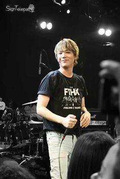 Hong Ki at FTHX tour in Paris