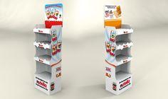 Ferrero self-assembling display - BI&BI Advertising Point Of Purchase, Point Of Sale, Retail Design, Brand Identity, Advertising, Self, Display, Marketing, Pop