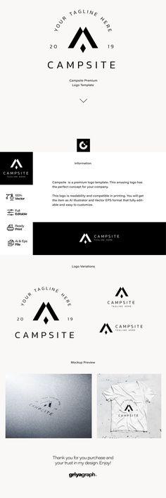 12 Best tent logo images | Tent logo, Tent, Logos