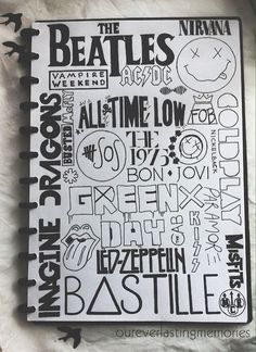 Repin if you see your favourite band!