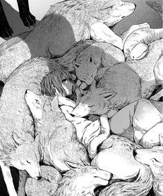 "manga-and-stuff: ""The Ancient Magus' Bride Kore Yamazaki "" Anime Wolf, Manga Anime, Anime Art, Manga Drawing, Manga Art, Chise Hatori, Character Art, Character Design, Werewolf Art"