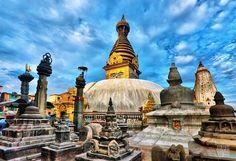 nepal lugares turisticos en asia