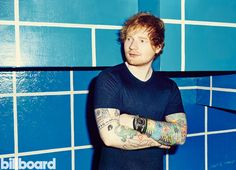 Ed Sheeran photographed for Billboard on Sept. 26, 2015 at Elvis Guesthouse in New York City.
