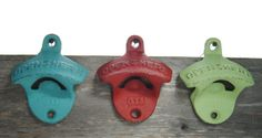 Vintage Wall Bottle Opener  Canadian Made by polarstones on Etsy, $9.00