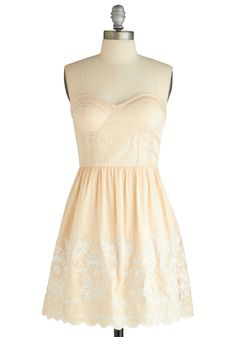 At First Dance Dress, #ModCloth  the Bustier top part<3
