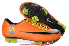 nike mercurial vapor vii superfly iii fg cleats for cheap orange black barcelona logo soccer cleats
