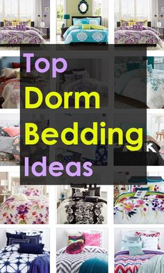 Tons of bedding ideas for Back to school. WANT THEM ALL