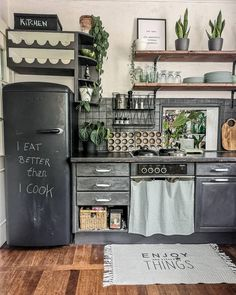 House Decorating Concepts: Decorating Methods For Living Room - Decoration is Art Interior Design Kitchen, Kitchen Decor, Hippie Home Decor, Beautiful Kitchens, Home Kitchens, Home Furniture, Kitchen Remodel, Sweet Home, Room Decor