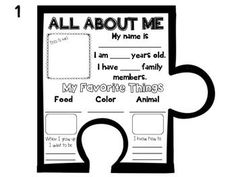 All About Me Class Puzzle {Beginning of the Year} Activity by Khrys Greco First Day Of School Activities, 1st Day Of School, Beginning Of The School Year, All About Me Activities For Preschoolers, New Classroom, Classroom Activities, Classroom Calendar, Classroom Ideas, Getting To Know You